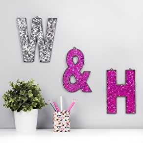 Bright Sparkle Alphabet Letters