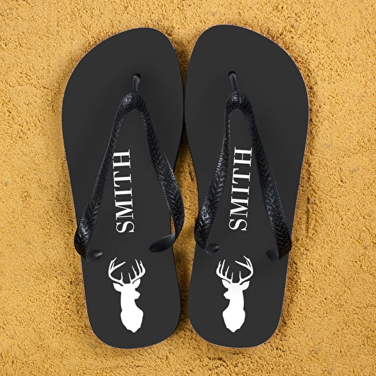 Stag Party Personalised Flip Flops