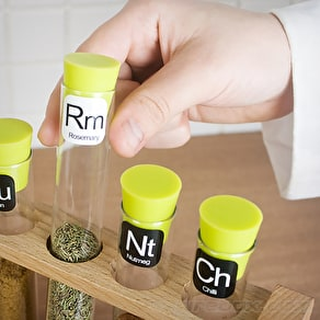 Scientific Spice Rack