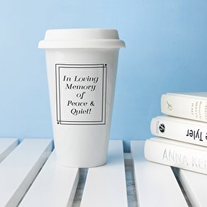 Personalised 'In Loving Memory' Travel Mug