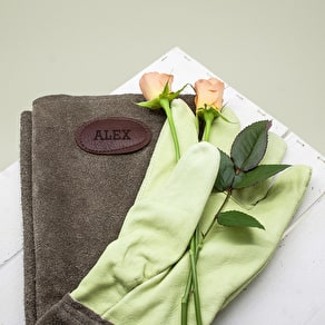 Personalised Monogram Gardening Gloves