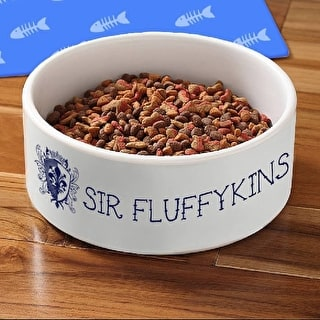 Personalised Crest Pet Bowl