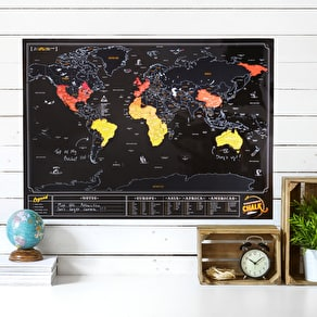Scratch Map® Chalk