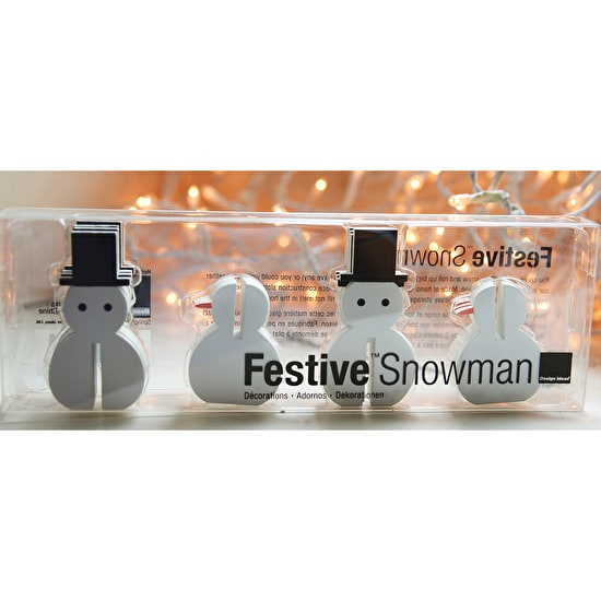Snowman, Penguin & Santa Decorations