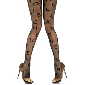 House of Holland Alphabet Tights
