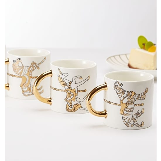 Carousel Bone China Tea Set
