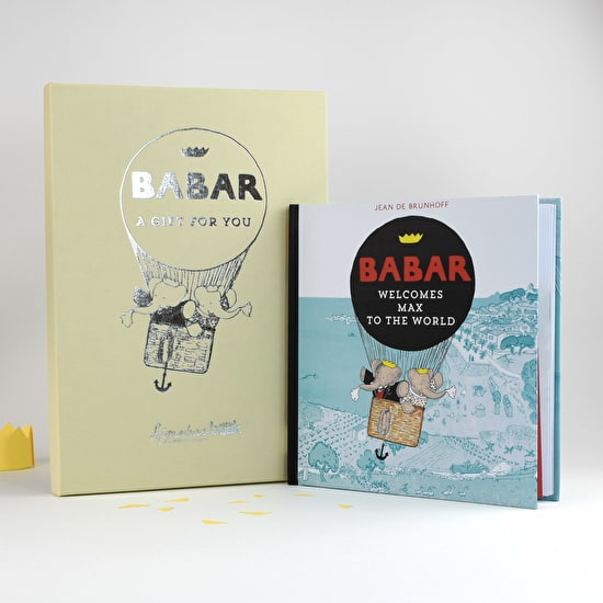 Personalised Gift Boxed Babar The Elephant Book