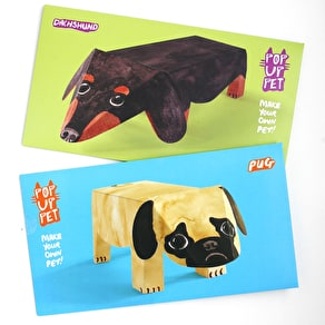Cardboard Dog 'Pop Up' Pet