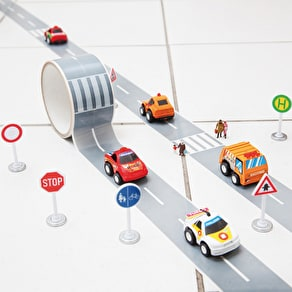Fun Road Tape & Race Car Set