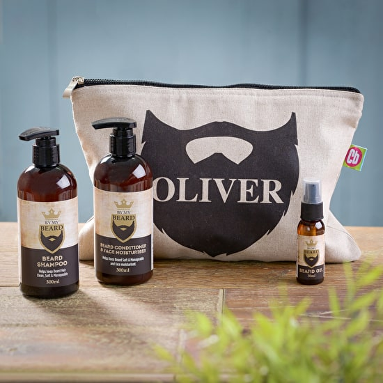 Personalised Beard Grooming Kit