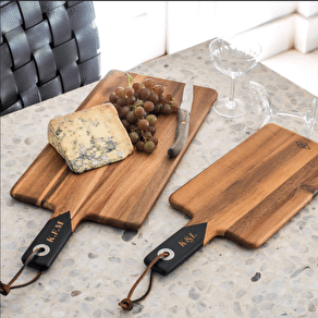 Personalised Set Of Two Serving Boards