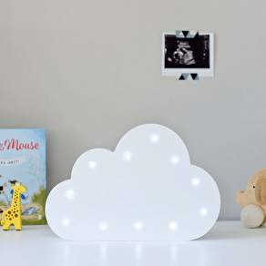 White LED Light Up Cloud