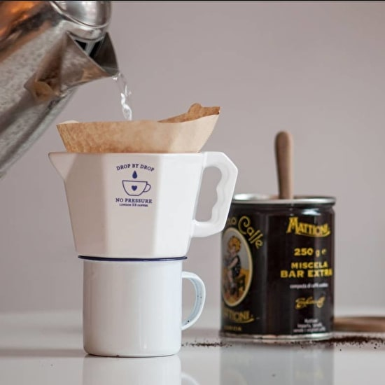 No Pressure Coffee Dripper And Scrabble Mug Set