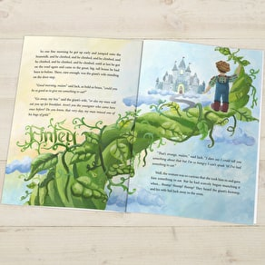 Personalised Jack And The Beanstalk Story Book