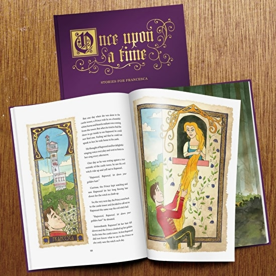 Personalised Deluxe Supersize Fairytale Book