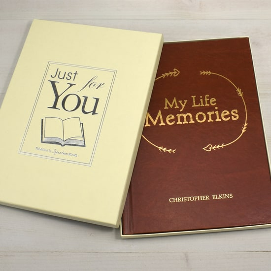 Personalised My Life Memories Journal