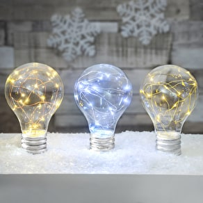 Freestanding LED Light Up Bulb