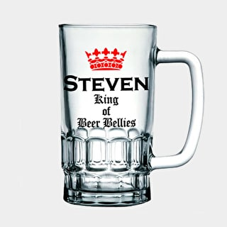 Beer Belly Glass Tankard