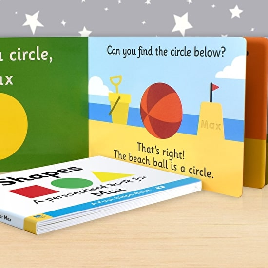 Personalised First Steps Book of Shapes