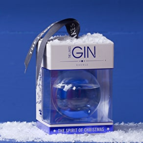 Large Gin Filled Bauble
