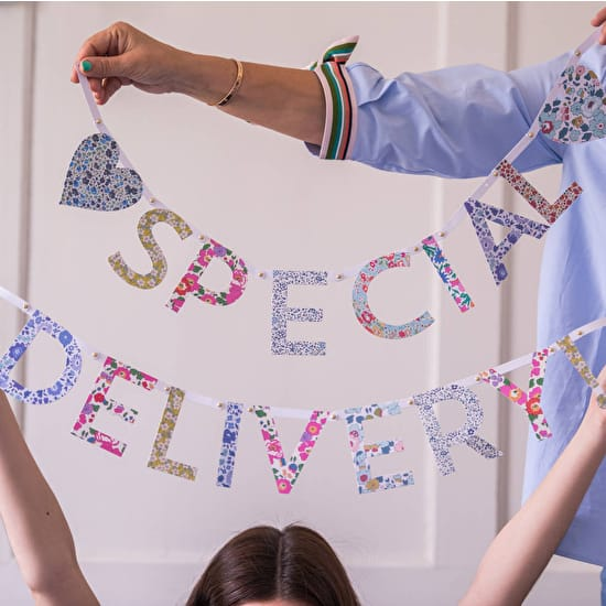 Personalised Announcement Bunting