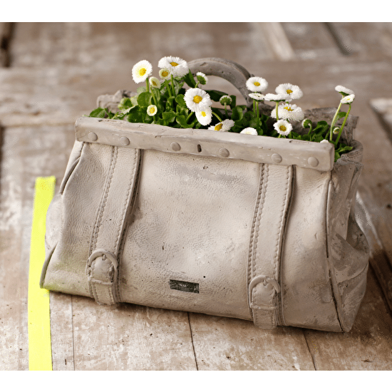 Concrete Gladstone Bag Plant Holder