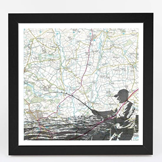 Personalised Framed Adventure Maps