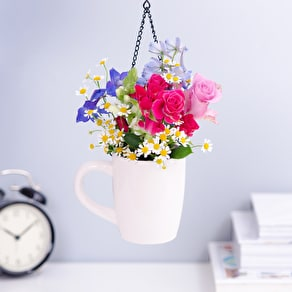 Ceramic Hanging Mug Planter