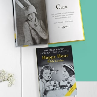 Personalised Mills & Boon Girls Guide To Happy Hour