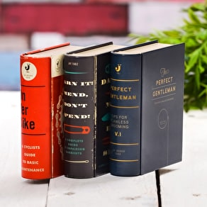 Book Shaped Metal Tin Kit