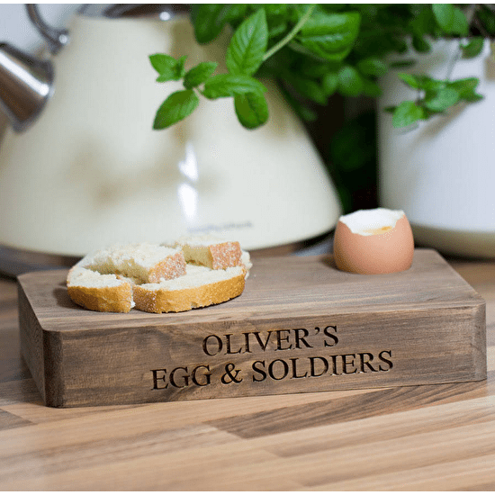 Personalised Egg And Soldiers Board