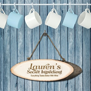Personalised Wedding Coat Hanger