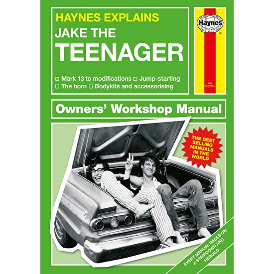 Personalised Haynes Manual for Teenagers