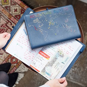 Luxury Stitch It Yourself Leather Journal