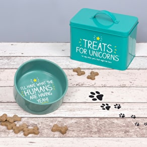 Pet Treat Storage Tin