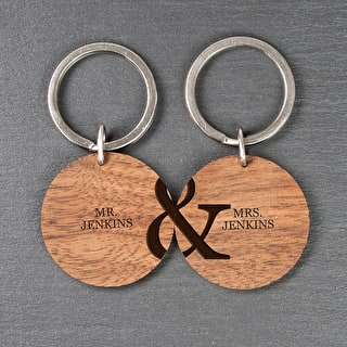 Personalised Couples Keyrings