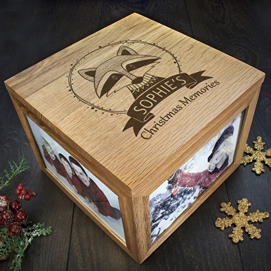 Woodland Animal Christmas Memory Boxes