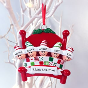 Personalised Cosy Family Decoration