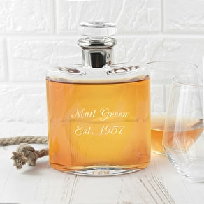 Personalised LSA Flask Decanter