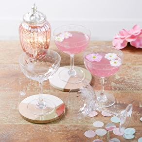 Set of Two Champagne Glasses