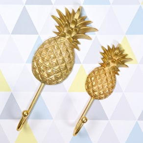 Gold Pineapple Hook