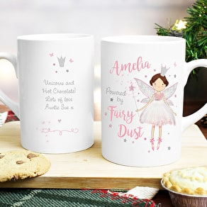 Personalised Christmas Fairy Dust Mug