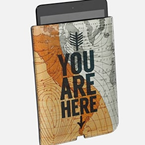 Cartography iPad Mini Sleeve