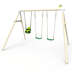 TP Triple Knightswood Swing Set - FSC<sup>&reg;</sup> certified
