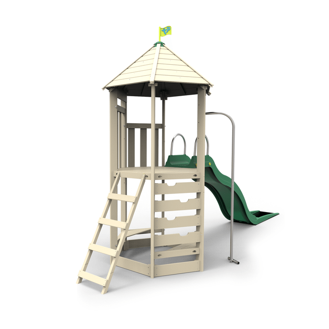 TP Castlewood Tower with CrazyWavy Slide - FSC<sup>®</sup> certified