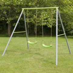 TP Double Metal Swing with Seats