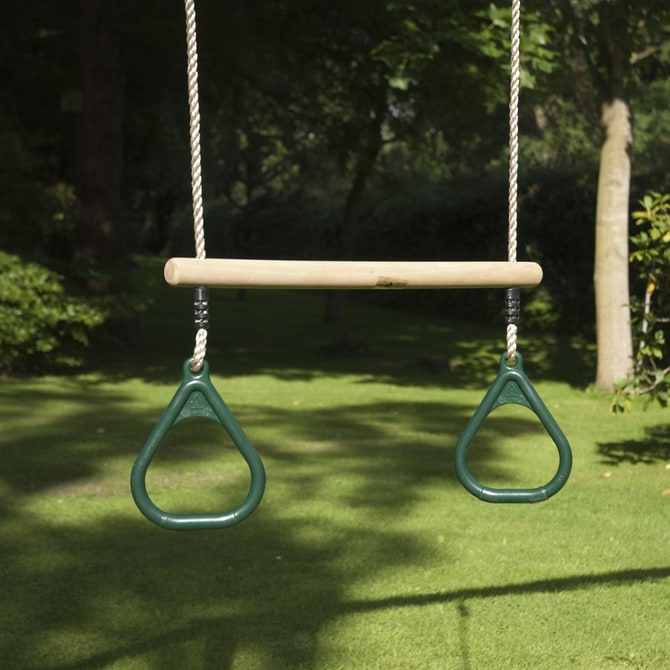 TP Wooden Trapeze and rings